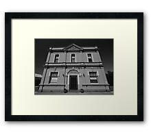 Bank, Natimuk Vic Framed Print