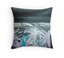 The Light is in the light .To find The Light search in the darkness. Throw Pillow