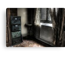 Back Office Canvas Print