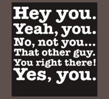Hey you! One Piece - Short Sleeve