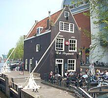the oldest pub in amsterdam by korniliak