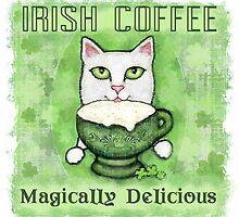 Irish Coffee Cat by Jamie Wogan Edwards