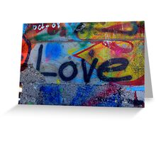 L.O.V.E. Greeting Card