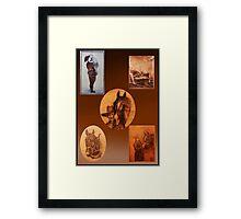 1929 Ancestor Art Framed Print