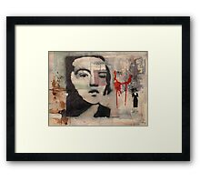 yes, sophie scholl distributed leaflets that day but did you see what she was wearing? Framed Print