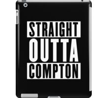 Straight Outta Compton (white) iPad Case/Skin