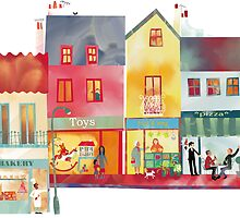 High Street by Nic Squirrell