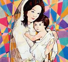 Prismatic Mother and Child by Joseph Barbara