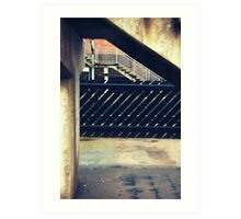 Thirsk Train Station Art Print