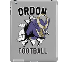 ORDON FOOTBALL iPad Case/Skin