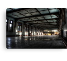 Dining hall Canvas Print