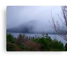Misty Island Canvas Print