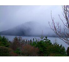 Misty Island Photographic Print