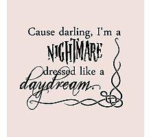 Taylor Swift - Blank Space lyrics Photographic Print