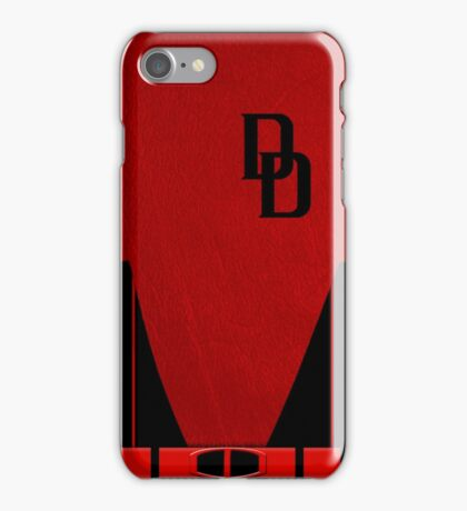 Secret War Daredevil Suit iPhone Case/Skin