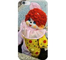 Clown in the Gravebox iPhone Case/Skin