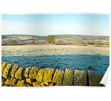 Derbyshire countryside near Shottle Poster