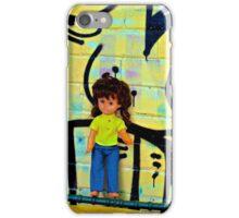 Back Alley Bin Doll iPhone Case/Skin