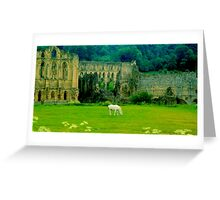 Ruins of Riveaulx Abbey Greeting Card