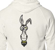 Donkey Dinner Logo Zipped Hoodie