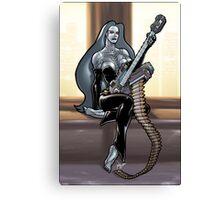 Missile Guitar 003 Canvas Print