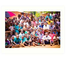 So many children (Malawi) Art Print