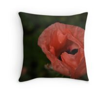 African Poppy Throw Pillow
