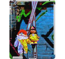 Back Alley Ski Fun  iPad Case/Skin
