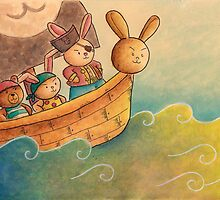The Pirate Bunny by haidishabrina