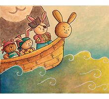 The Pirate Bunny Photographic Print