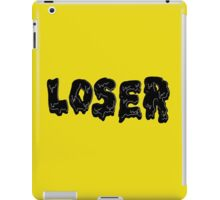 Losers Never Win iPad Case/Skin