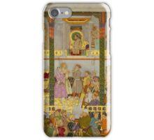 Balchand  - The Presentation of Prince Dara-Shikoh's wedding gifts (1633) c. 1656 - 1657 iPhone Case/Skin