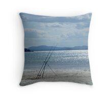 fishermans tools Throw Pillow