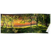 Sunset Calmness Poster