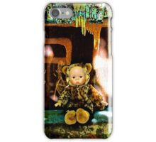 Back Alley Leopard Doll  iPhone Case/Skin