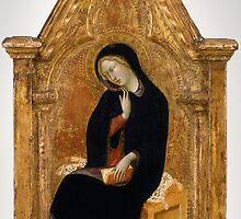 Bartolo di Fredi - The Virgin of the Annunciation by Adam Asar