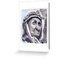 Eagle Chief Greeting Card