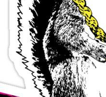 Wild Style Squirrel Sticker