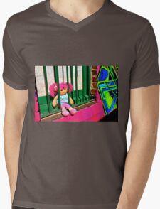 Back Alley Jailbait Doll  Mens V-Neck T-Shirt