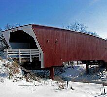 Cedar Covered Bridge by Linda Miller Gesualdo