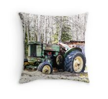 """John Deere """"M"""" 1947 Throw Pillow"""