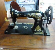Old Singer Treadle Sewing Machine by EdsMum