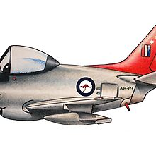 F86 Sabre by Spencer Trickett