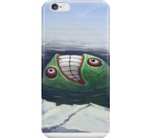 Arctic Flying Possum meets Wrong Fish iPhone Case/Skin