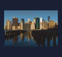 New York City Morning Reflections - Impressions Of Manhattan Kids Clothes