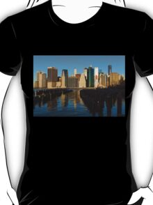 New York City Morning Reflections - Impressions Of Manhattan T-Shirt