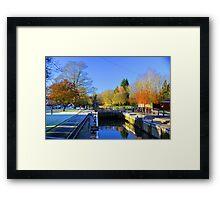 Hurley Lock Framed Print