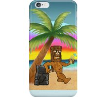 Pau Hana Tiki iPhone Case/Skin