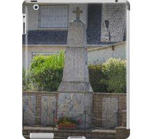 In Memoriam 1939-1945, Beganne, France iPad Case/Skin