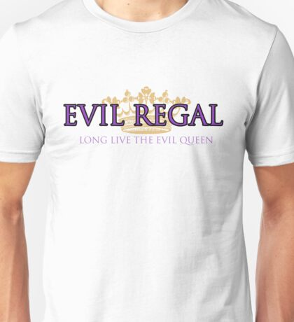 Evil Regal (2) Unisex T-Shirt